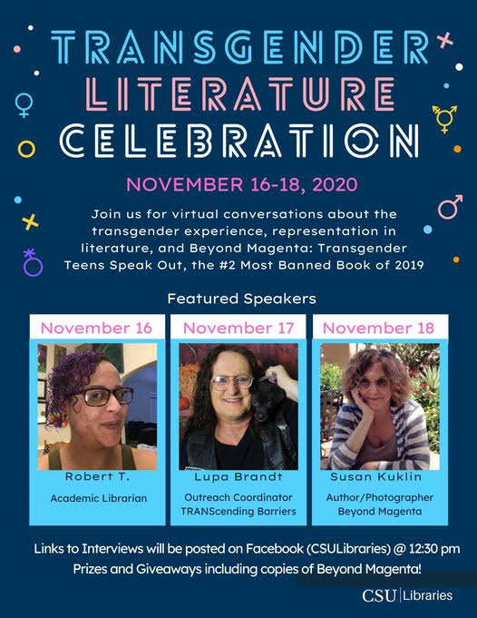 Columbus State University:  Transgender Literature Celebration